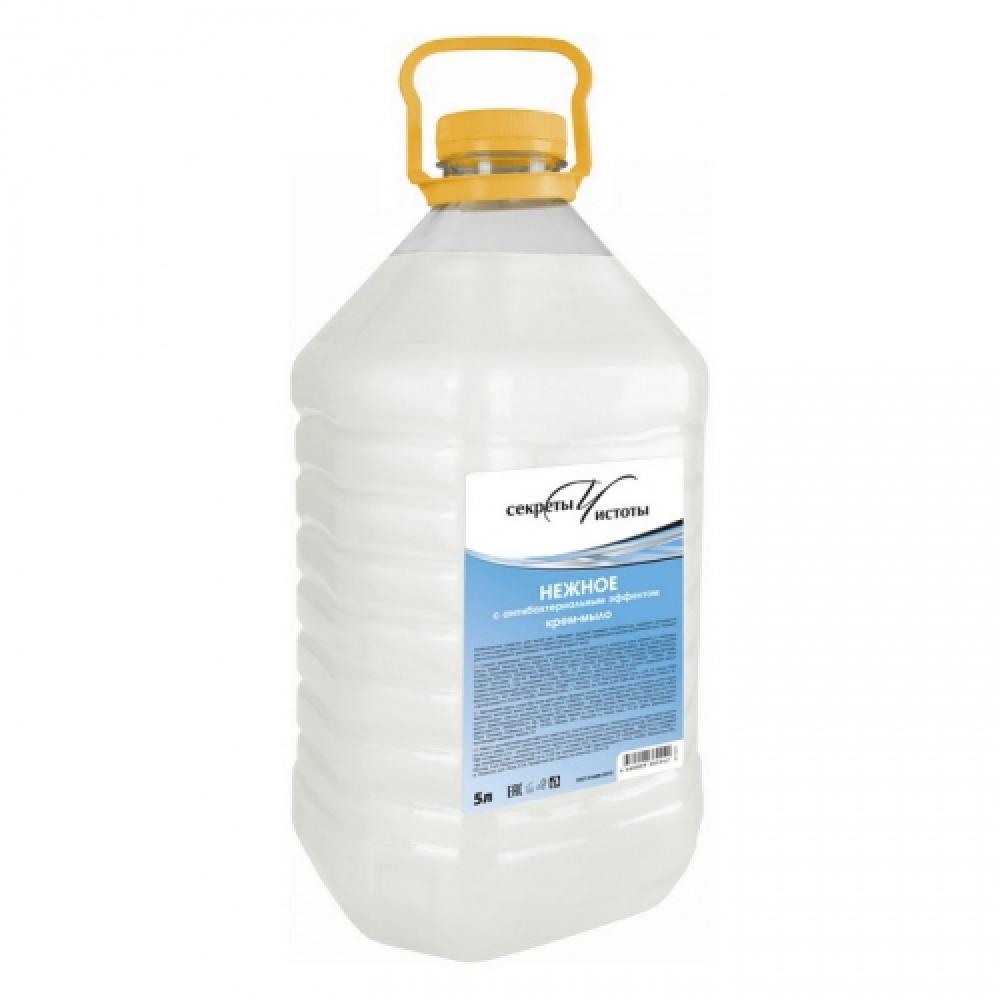 001128 Жидкое крем-мыло нежное с антибактериальным эффектом в ПЭТ-канистрах (РОССИЯ)
