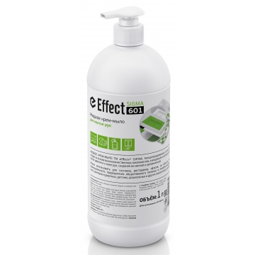 14326 Effect SIGMA 601 жидкое крем-мыло д/рук 1л 1/2