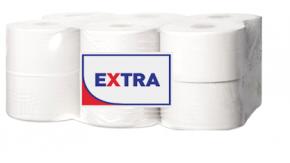 """10610Э/2160Л Туалетная бумага в средних рулонах """"EXTRA"""" 2 слоя, 160 метров"""