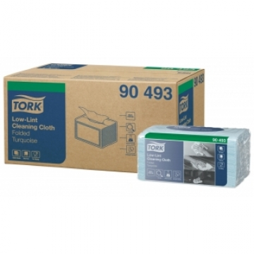 90493 Tork Premium нетканый материал для чувствительной очистки поверхностей в салфетках