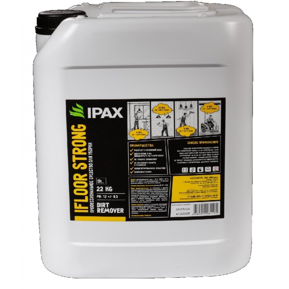 iFs-10  Универсальное, концентрированное, щелочное средство IPAX iFloor Strong 10кг.