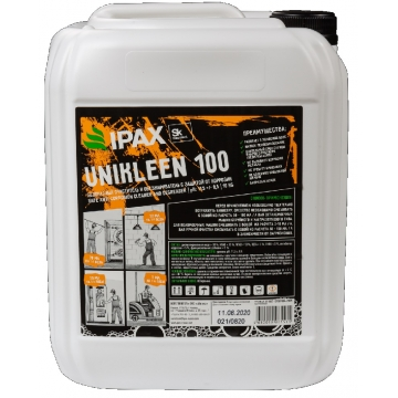 ЮК100-10 Универсальный очиститель и обезжириватель IPAX Юниклин 100 10кг.