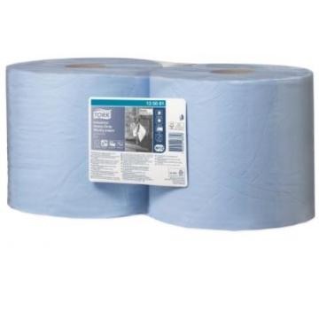 128408 Tork базовая протирочная бумага в рулоне, 2 слоя, голубая