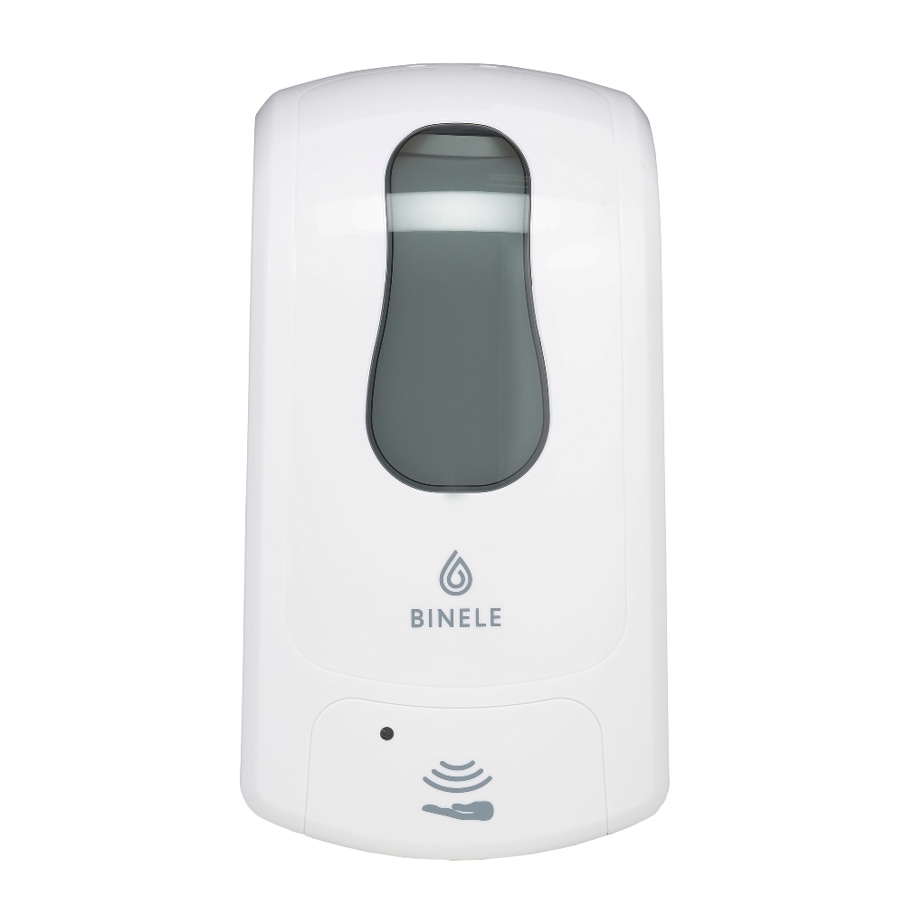 DF10RW Диспенсер BINELE eFoam для мыла-пены наливной сенсорный, 1л. (белый)