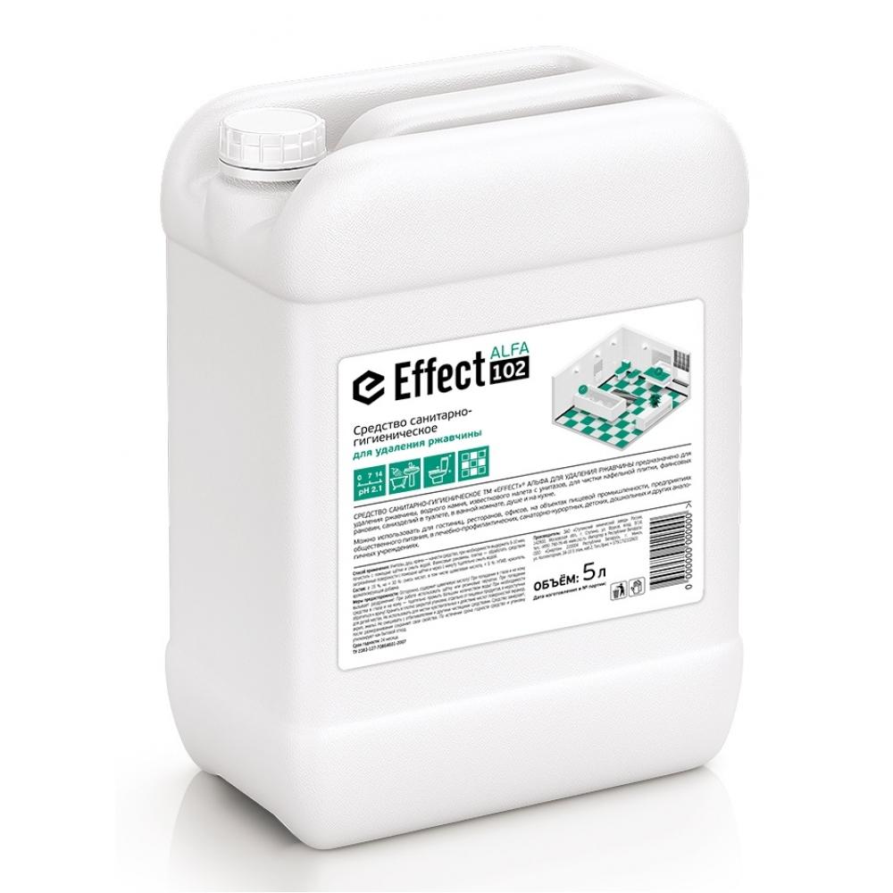 102 Effect ALFA 5л ср-во от ржавчины, водн. камня, извест. налета 5л 1/2
