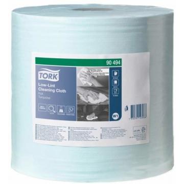 190494 Tork безворсовый нетканый материал в большом рулоне, голубой