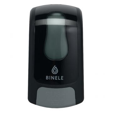 DL01RB Диспенсер BINELE mSoap для жидкого мыла наливной, 1л. (черный)