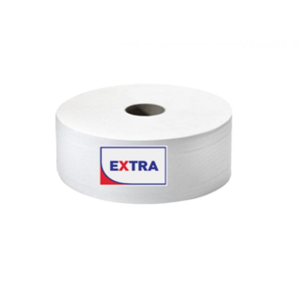 """10622 Э Туалетная бумага """"EXTRA"""" 2 слоя, 200 метров, тиснение"""