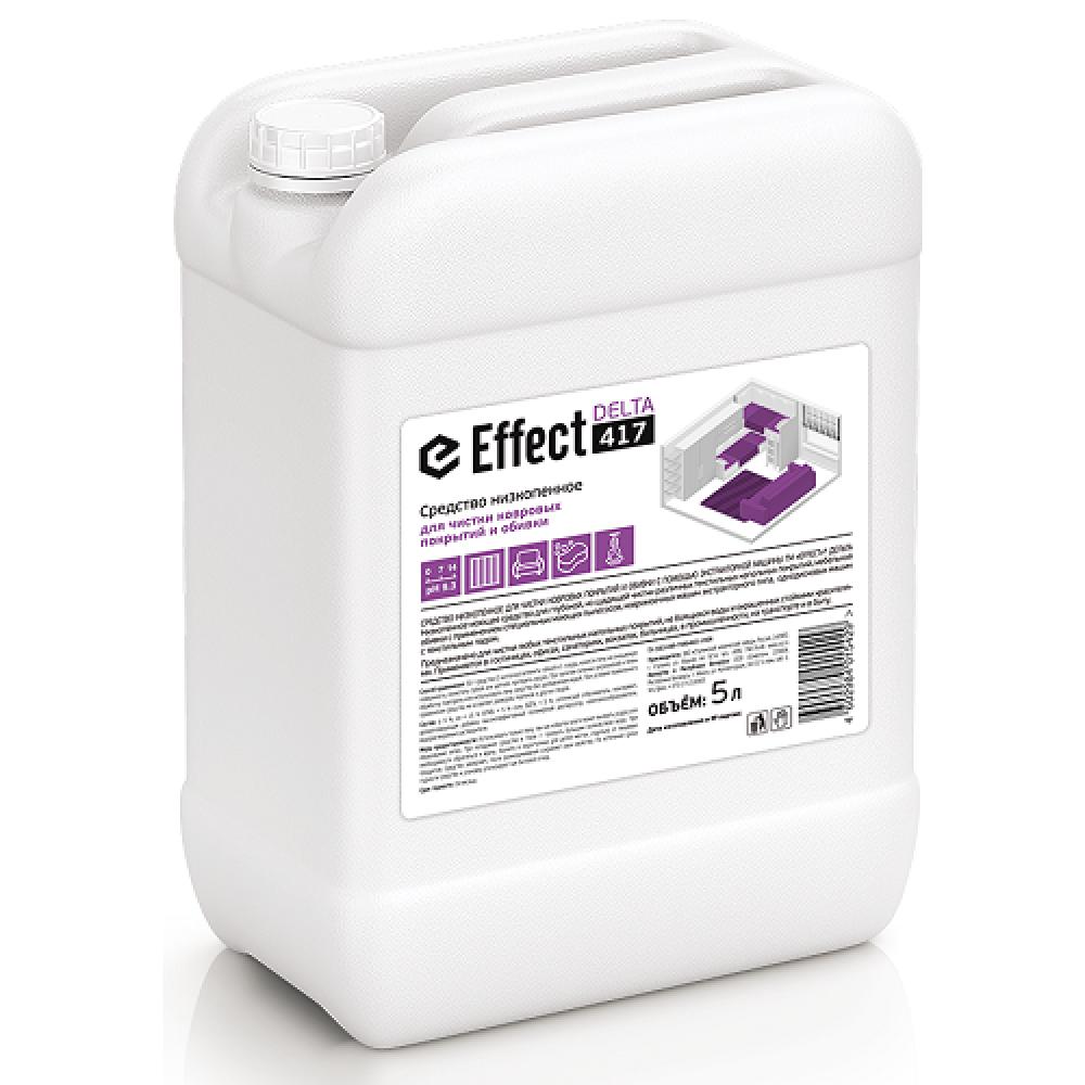 9308 DELTA 417 (Средство низкопенное для чистки ковровых покрытий и обивки с помощью экстракторной машины) 5л.