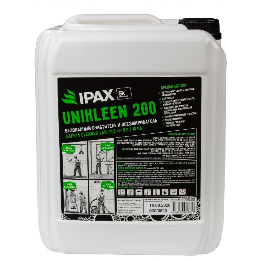 ЮК200-10 Универсальный очиститель и обезжириватель IPAX Юниклин 200, 10кг.