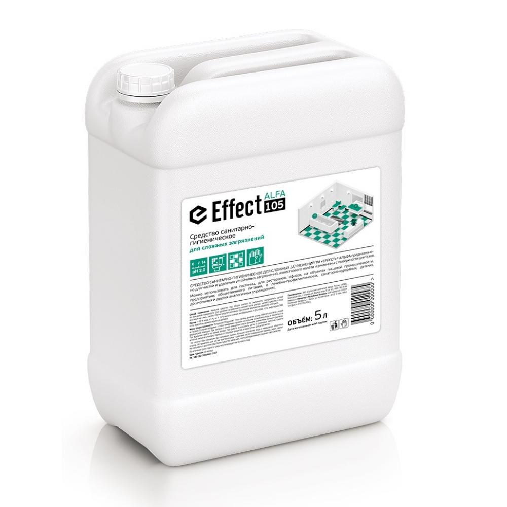 105 Effect ALFA 5л сан. ср-во д/сложных загрязнений (МОЩНАЯ КИСЛОТА) 5л 1/2