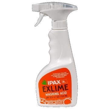 Ex-0.5 Средство для удаления ржавчины, мин. отложений и после строительной уборки IPAX Exlime 0.5кг.
