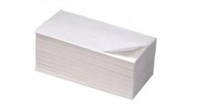 V1-250M  Бумажные листовые полотенца Extra V-сложения 1 слой 20 пачек
