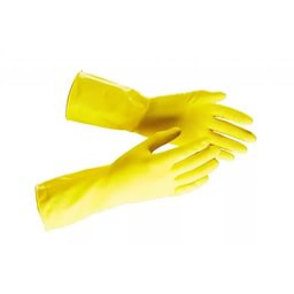 пх-s Перчатки хозяйственные латексные ELF размер S